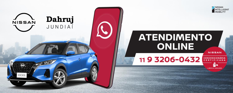 Nissan - Comunicados Gerais - Atendimento Online - 2021 - Banner site
